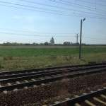 Surveillance from train in Romania
